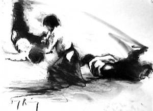 Айкидо (рисунок)